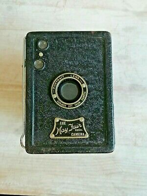 The May Fair Box Camera Vintage & case Goodwood Revival Accessory Sports Display