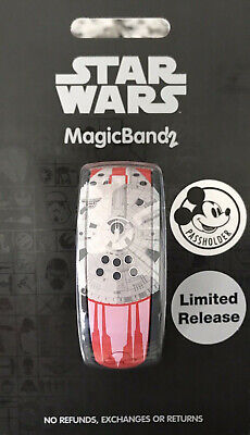 Disney World Star Wars Galaxy's Edge Passholder MagicBand 2 - Limited Release