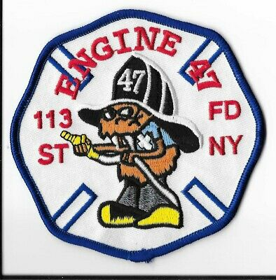 New York City Fire Department (FDNY) Engine 47 Patch V1
