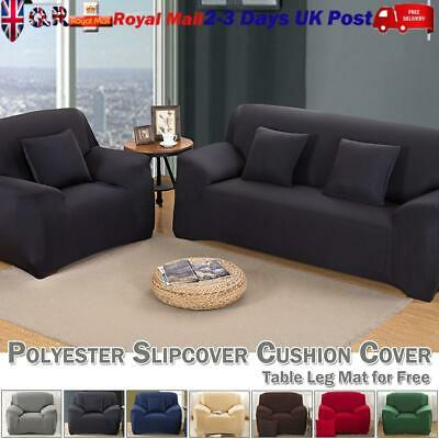 Jacquard Sofa Couch Slipcover Stretch Covers Elastic Fabric Settee Protector Fit