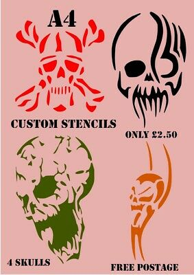 Airbrush Painting Craft Stencils Template Custom Design