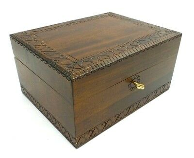 Cremation Urn Locking Adult Dog Cat Wood Box 300 Cubic Inch Ashes Memorial Box
