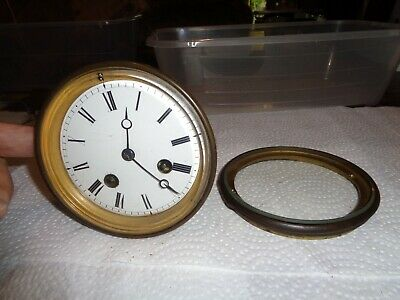 """Antique-French """"Japy"""" Clock Movement-Ca.1880-To Restore-#T758N"""