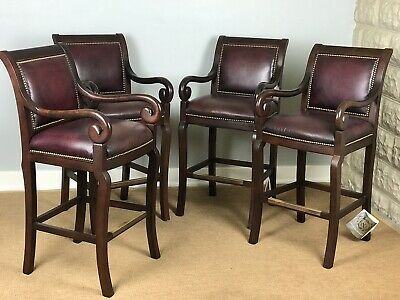 Terrific Hancock Moore Oxblood Red Leather Club Lounge Chair Gmtry Best Dining Table And Chair Ideas Images Gmtryco