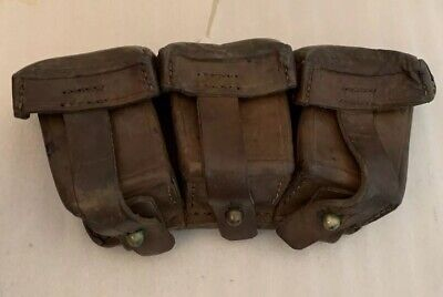 RARE WWII GERMAN Ammo Pouches 8mm Mauser - $70 00 | PicClick