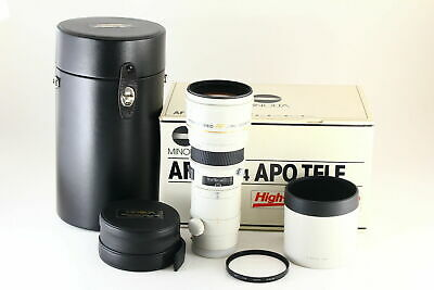 [Exc+ in Box] MINOLTA AF APO TELE 300mm f/4 G High Speed Lens From JAPAN 5780