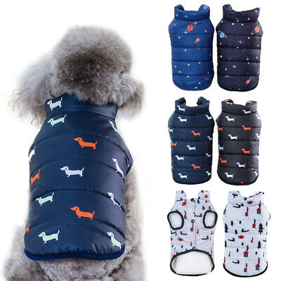 Pet Dog Winter Coat Small Medium Dog Hoodie Clothes Warm Dog Jacket Puppy Outfit