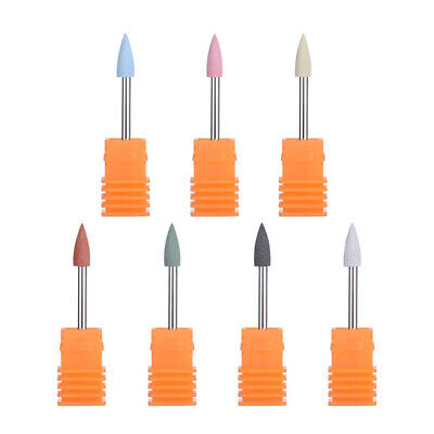 4×12mm Silicone Electric Nail Drill Replacement Bits Machine Nail Art Decor Tool