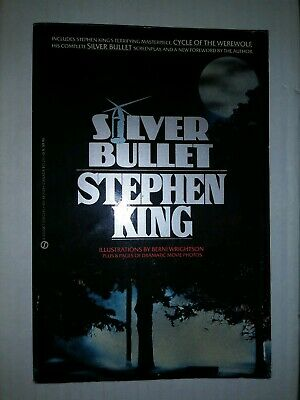Stephen King Silver Bullet Screenplay 1st edition  Cycle Of The Werewolf