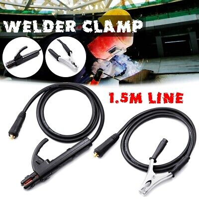 300A Ground Earth Clamp Clip Welder Cable For MMA ARC Welding Inverter