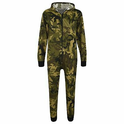 Kids Girls Boys Camouflage Green Print A2Z Onesie One Piece Jumpsuit Playsuits