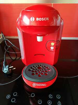 € 145 BOSCH TASSIMO VIVY 2 Boisson Pod Capsule Café Cafe machine maker END1//9