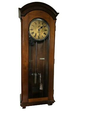 Rare INDUCTA electric master clock by Landis & Gyr