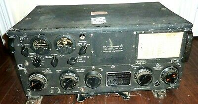 RARE Authentic WWII US Navy Aircraft Col-52286 Radio Transmitter