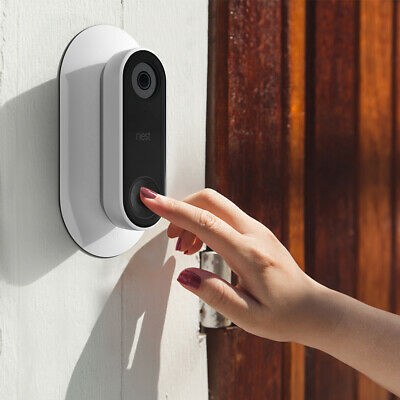 Wall Plate with L/R Wedge Kit Bracket Cover for Nest Hello Video Doorbell TH1003