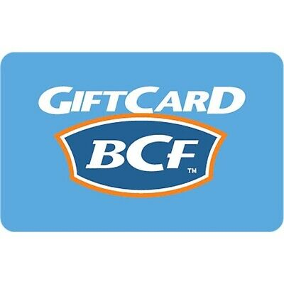 BCF Gift Card $50 Email Delivery