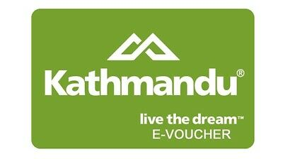 Kathmandu Gift Card $50 Email Delivery