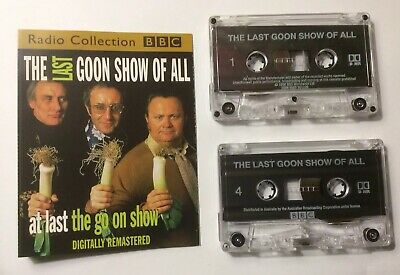 The Last Goon Show Of All BBC Radio Audiobook Cassette X 2 Digitally Remastered