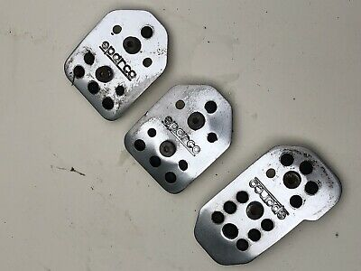 Vw Golf Mk2 Sparco Racing/Rally Alloy Pedal Covers