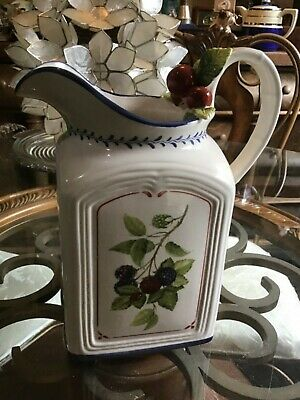 Villeroy & Boch Cottage Inn - Large Porcelain Pitcher -