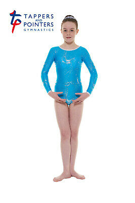 Girls Long-sleeved Gymnastic Leotards, Tappers & Pointers GYM//36