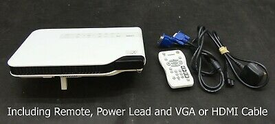 Casio XJ-A130V HDMI/VGA DLP Projector - Projects a good image - Lamp 4540 hrs