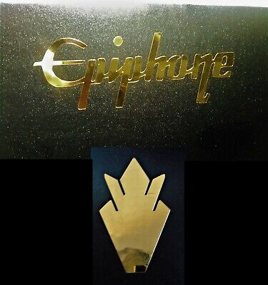 Luthier OEM 0.4/% 22k GOLD LEAF Gibson Guitar Headstock Inlay Decal Sticker