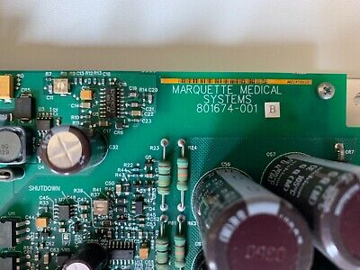 Marquette 801674-001 Power Supply Board for GE Solar 8000i