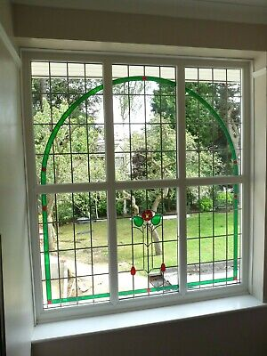 Large and Beautiful Stained Glass Window