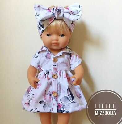 Miniland Doll Clothes Shirt dress For 38cm