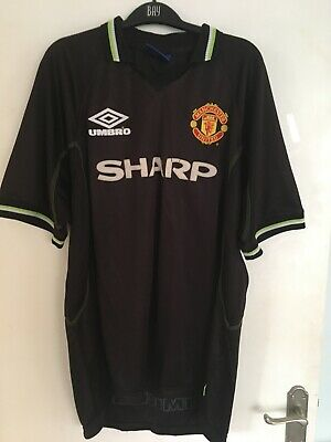 Manchester United shirt 1998/99 XL Away Umbro