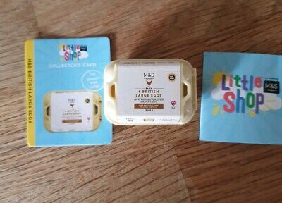 M&S Marks And Spencer Little Shop British Large Eggs