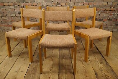 Miraculous 60S 6X Dining Room Chairs Mid Century Chair Vintage 60S Lamtechconsult Wood Chair Design Ideas Lamtechconsultcom