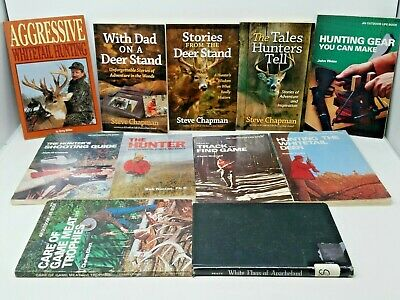 11 Book Lot: DEER HUNTING
