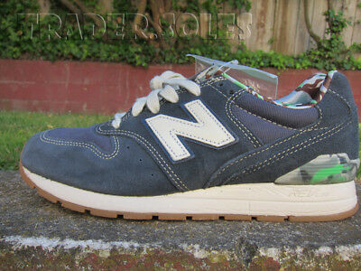 the latest c1058 470ed DS NEW BALANCE 996 NAVY BLUE GUM CAMO sz 5.5 LIFESTYLE RUNNING SHOES  MRL996FI