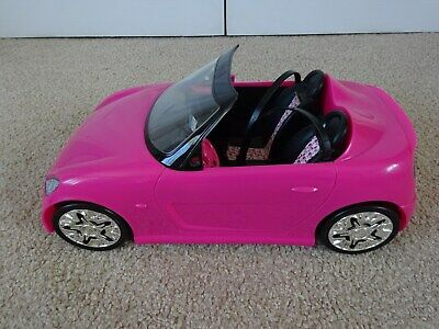 Barbie Glam Convertible Hot Pink Car