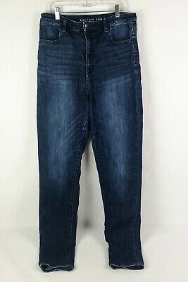 NWT AMERICAN EAGLE Super Stretch Highest Rise Jegging Jeans 12XL-14L Rips #910
