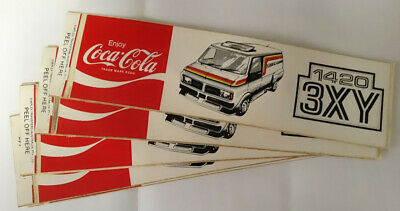 Decal: Coca Cola 3XY from the 1980's Very Rare x 1 decal only