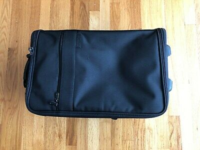 "21"" BRIGGS & RILEY Carry-On Roll Luggage Garment Bag Work Travel Suit Case BLACK"