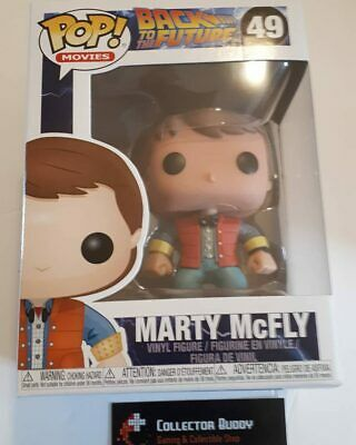 Funko Pop! Movies 49 Back to the Future Marty McFly Pop Vinyl Figure FU3400