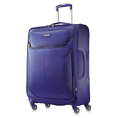 """Samsonite LIFTwo 25"""" Spinner Upright Rolling Luggage Suitcase Lift 2 #58746 Blue"""