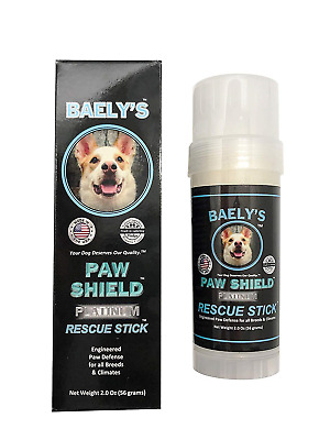 Baely's Paw Shield Rescue Stick | Easy to Apply Dog Paw Protection Wax | Natural