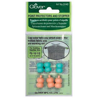 Clover Circular Knitting Needles Point Protectors per pack of 4 CL3004-M