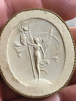 Antique circa1850 Grand Tour intaglio roman ancient Poniatowski engraved gem