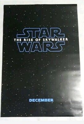 STAR WARS: THE RISE OF SKYWALKER Authentic Advanced 27x40 D/S Movie Poster.