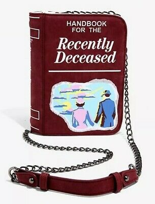 Beetlejuice Handbook For The Recently Deceased Crossbody Purse Bag