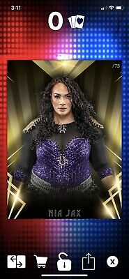 Topps Slam Gold Timeless Nia Jax