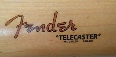 Fender Decal Waterslide Gold Telecaster Restoration Headstock FREE SHIPPING