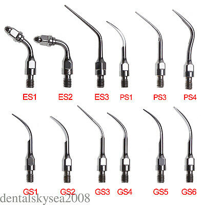 12 type Dental Scaling Endo Perio Tips Compatible w/ SIRONA Ultrasonic Scaler