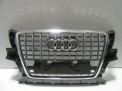 AUDI OEM 09-12 Q5 Front Bumper Grille Grill-Outer Grille